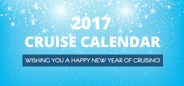 2017 Cruise Calendar