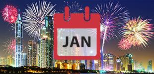 January 2018 cruises