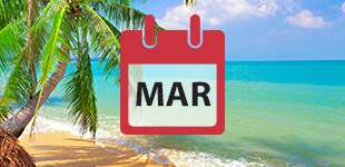 March 2019 cruises