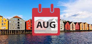 August 2017 Cruises