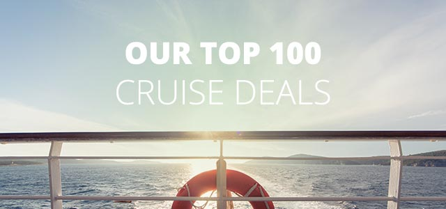 top 100 cruise deals