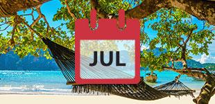 July 2017 Cruises