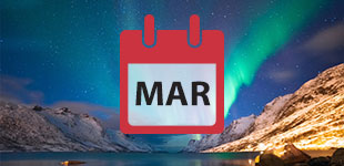 March 2018 cruises