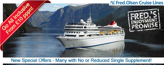Fred.Olsen Cruise Lines Offers