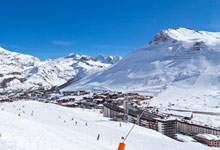 Ski holidays in Tignes