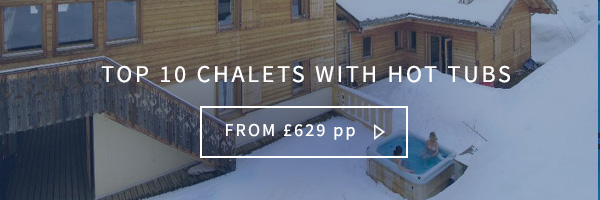 Top 10 chalets with hot tub