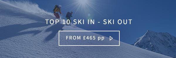 Top 10 ski in ski out