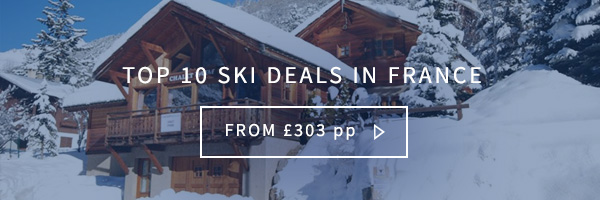 Top 10 ski deals in france