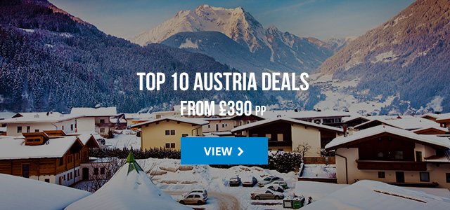 Top 10 Austria deals from £390 pp