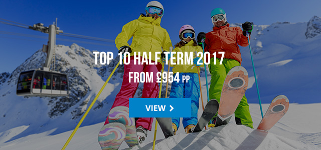 Top 10 Half Term from £954 pp