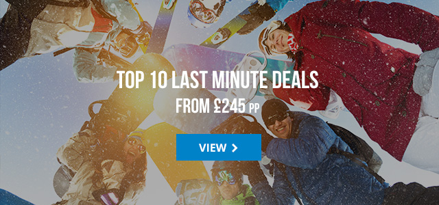 Top 10 last minute deals from £245 pp