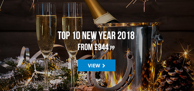 Top 10 New Year from £944 pp