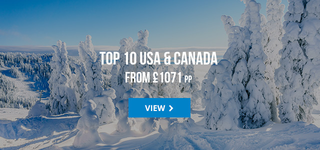 Top 10 USA and Canada deals from £1071 pp