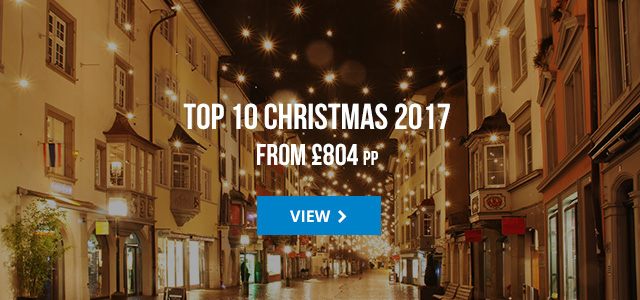 Top 10 xmas 2017 deals from £804 pp