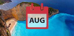 August 2018 Cruises