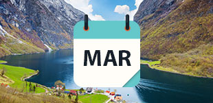 March 2021 Cruises