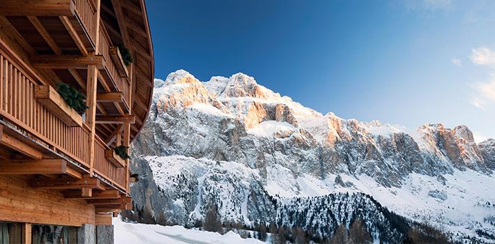Skiing in South Tirol