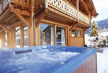 Ski holidays with short transfer