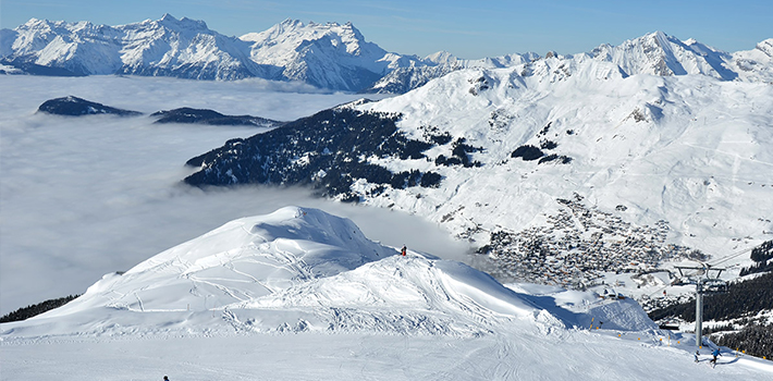 Ski holidays in the four valleys